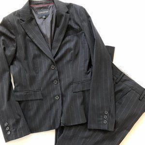 Banana Republic wool blend Suit Navy  6S